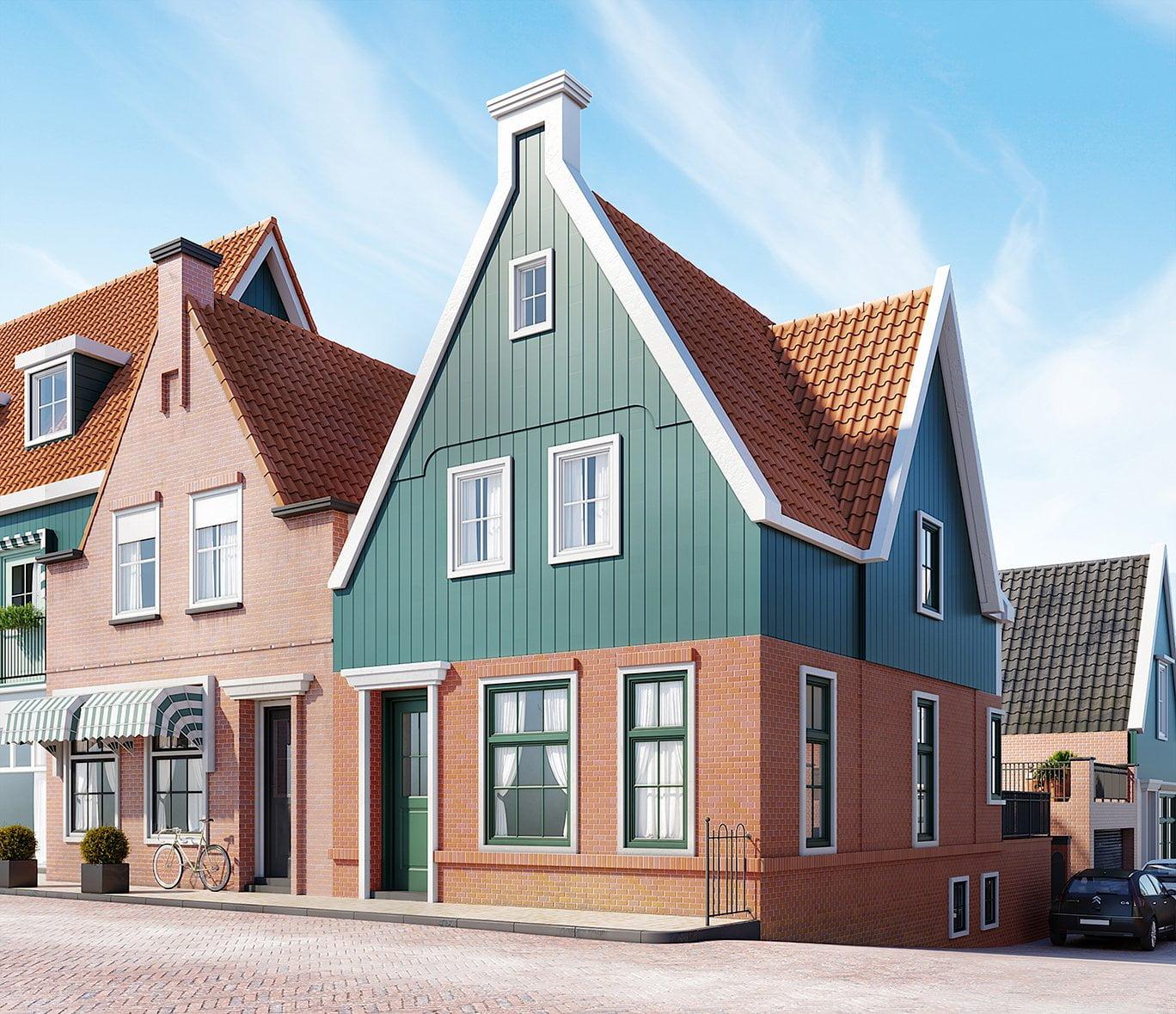 Volendam_Artist_Impressie huis