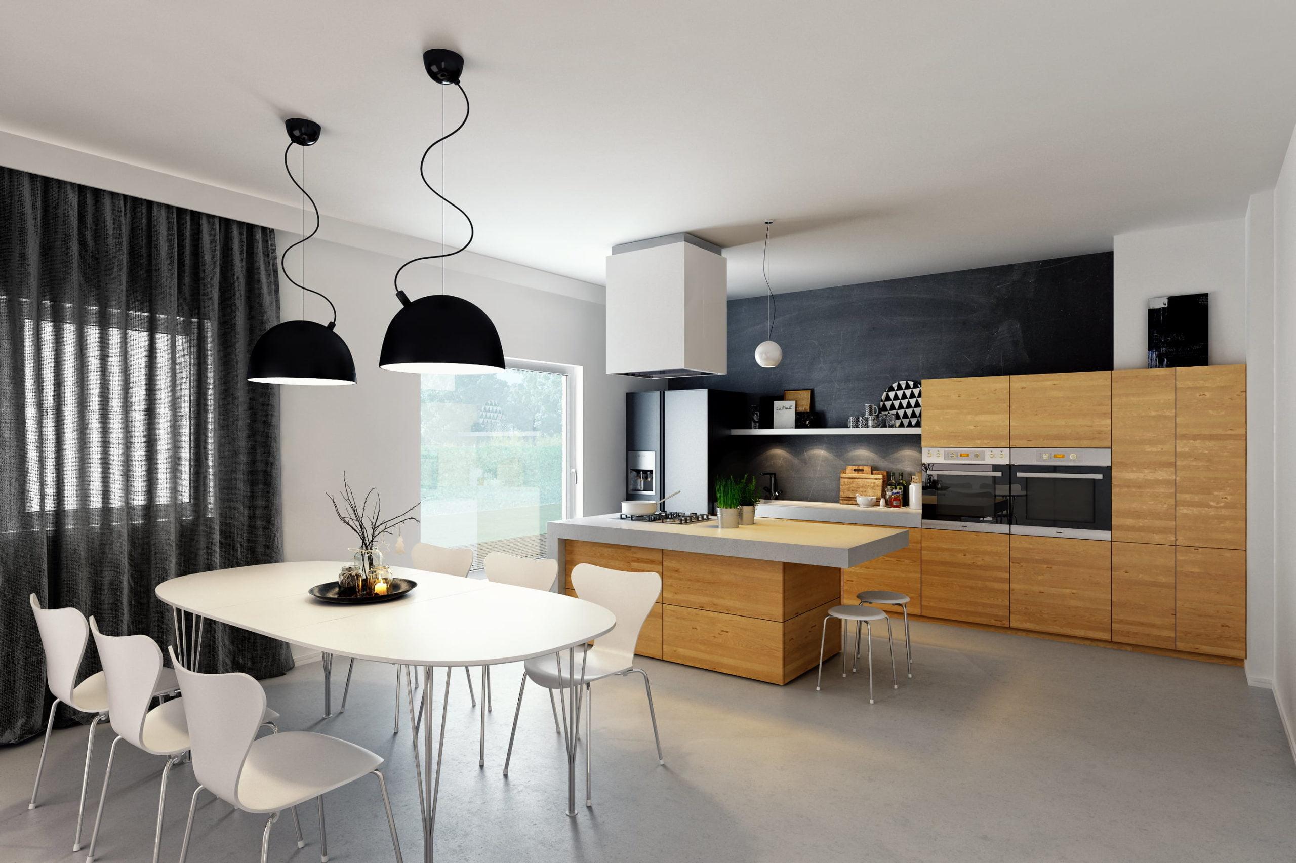 Artist-impressie keuken