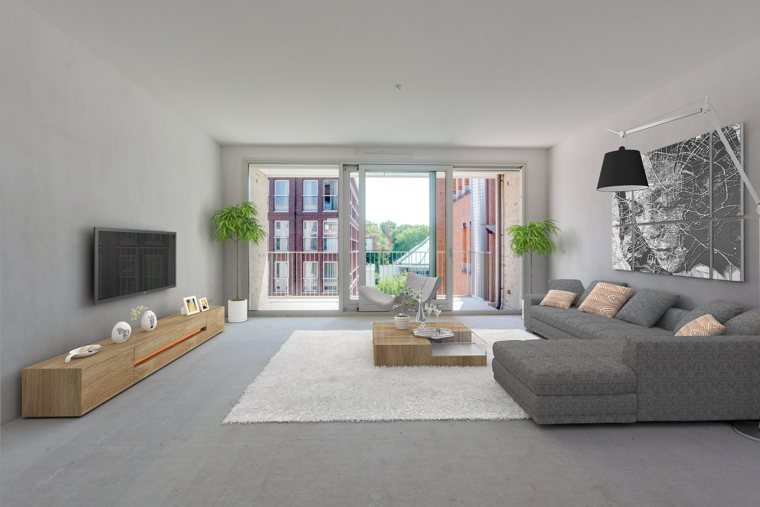 Virtual_Staging_Living woonkamer appartement