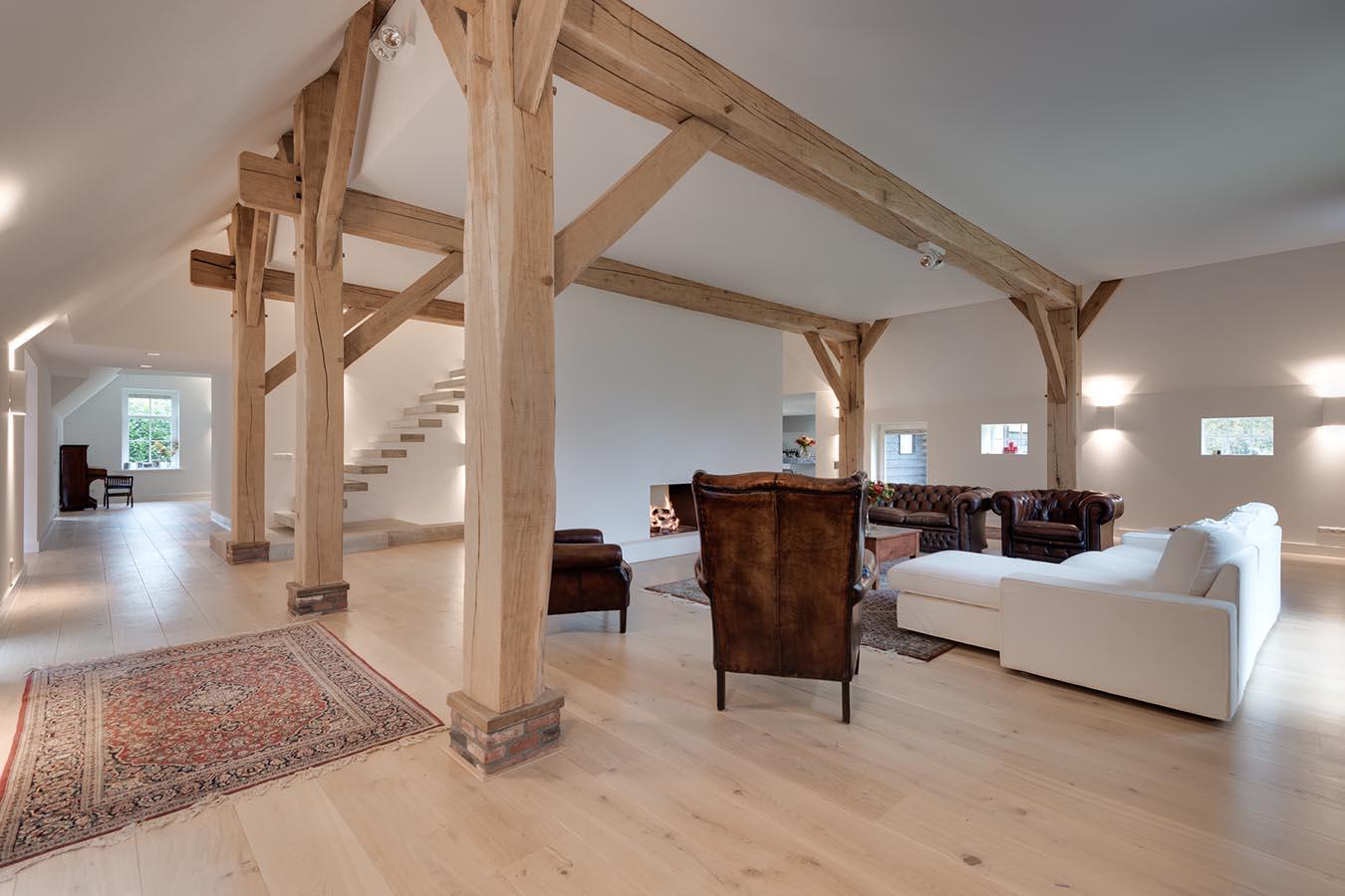 houten woonbalken