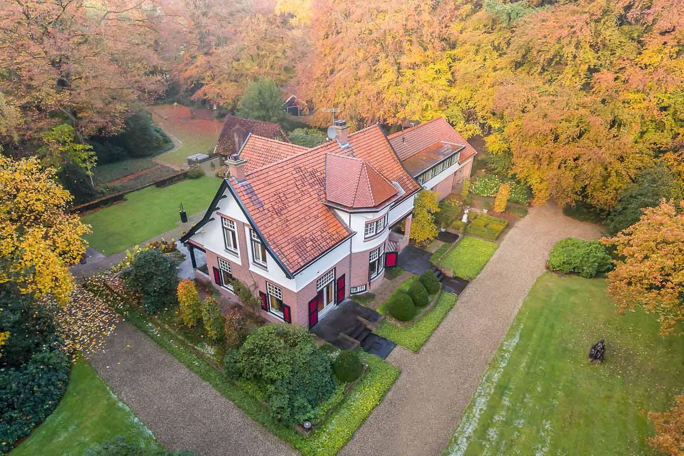 luchtfoto huis funda