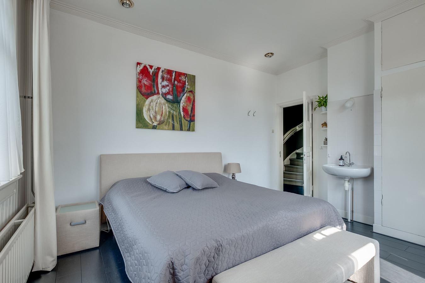 slaapkamer met een rustige uitstraling