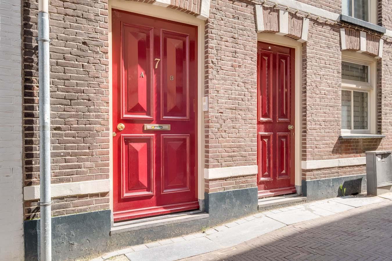 historische voordeur in zutphen