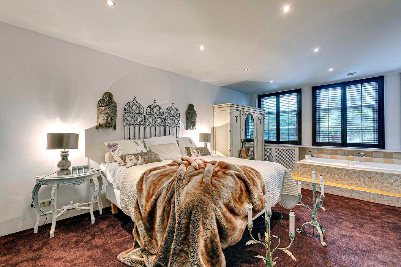 kitscherige slaapkamer