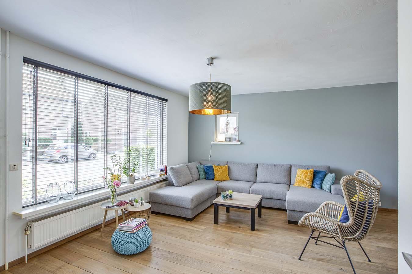 gestyleerde woonkamer door interieurspecialist