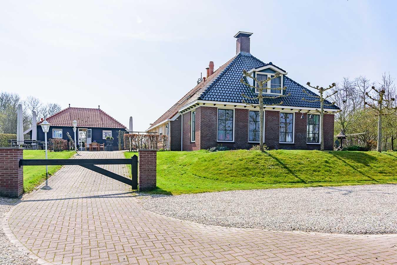 vrijstaande woning in het noorden van nederland