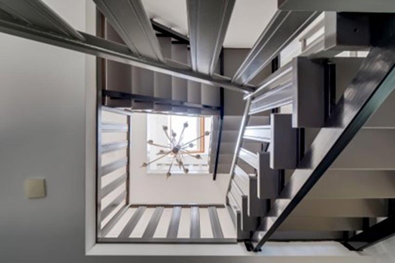 trappenhuis in een woning