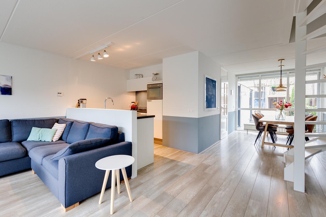 woonkeuken en ruime woonkamer