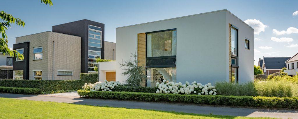 Prachtig belichte woning, echt een mooie foto!