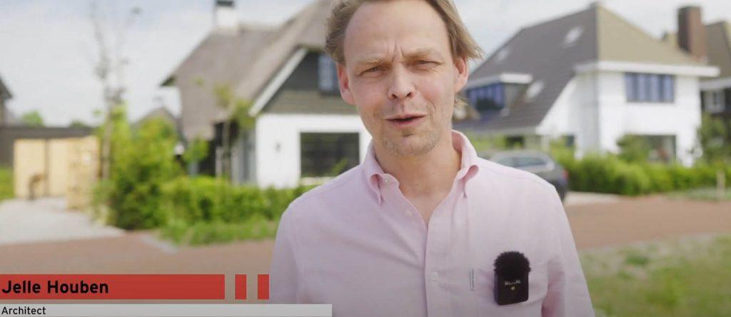 video met interviews voor nieuwbouwproject